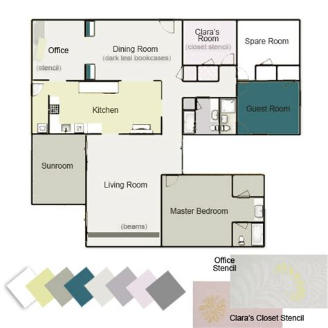 house color palette whole house color palette images