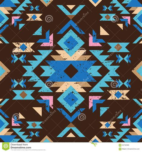 tribal pattern colorful colorful tribal seamless pattern stock vector image