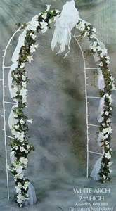 wedding arches target 7 5 foot white indoor outdoor wedding arch decorations auctions buy and sell findtarget auctions