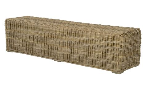 rattan benches rattan bench jayson home