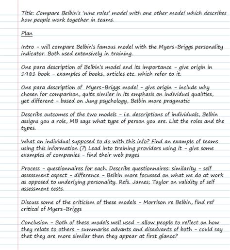 How To Write A Plan For An Essay by Planning Your Essay And Getting Started Essay Writing
