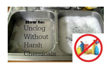 how to unclog a sink without drano quick tip unclog a drain without harsh chemicals