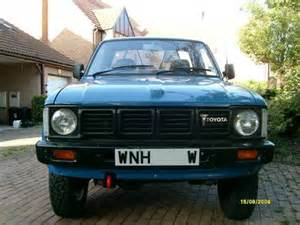 toyota hilux mk1 for sale toyota hilux 4x4 1 sold 1981 car and classic