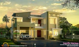 New Home Designs Beautiful Modern Modern House View Kerala Home Design And Floor Plans