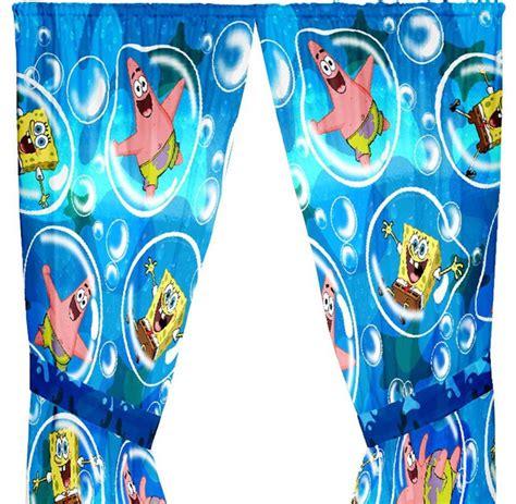 spongebob curtains spongebob squarepants curtains playful bubble drapery