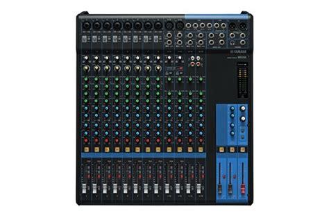 Mixer 16 Channel Yamaha Mg16 yamaha mg16 16 channel analog mixer heid