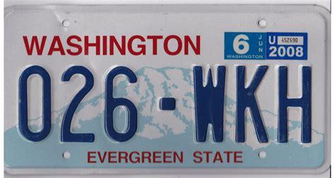 Wa Vanity Plates by Washington License Plates