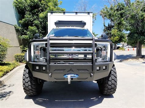 ford truck bumpers ford trucks 2017 current front winch bumper aluminess