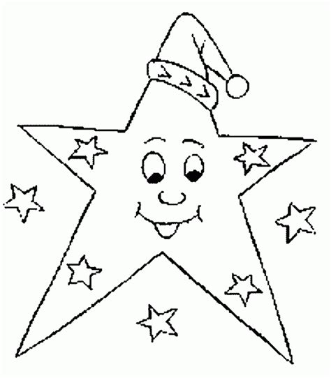 Star Coloring Pages Good Night   Print Coloring Pages
