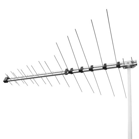 32 element log periodic tv antenna vhf uhf fm hdtv digital ready aerial 32ant selby