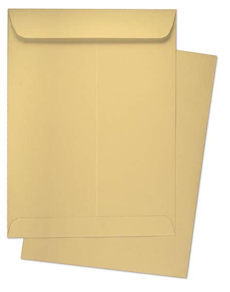 9 x 12 catalog 28lb manila kraft catalog envelopes