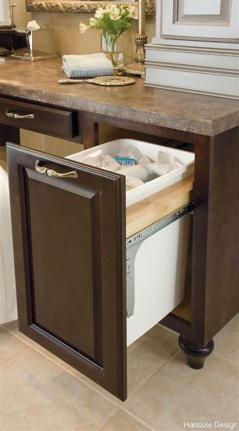 Built In Trash Cans For The Kitchen by Built In Kitchen Trash Can For The Home