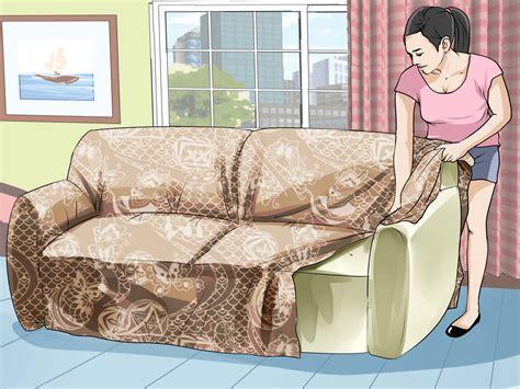 como forrar  sofa  pasos  fotos wikihow