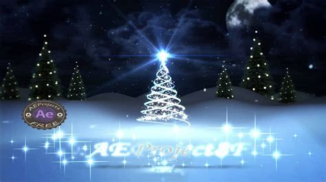 templates after effects free christmas after effects project free merry christmas 2015 youtube