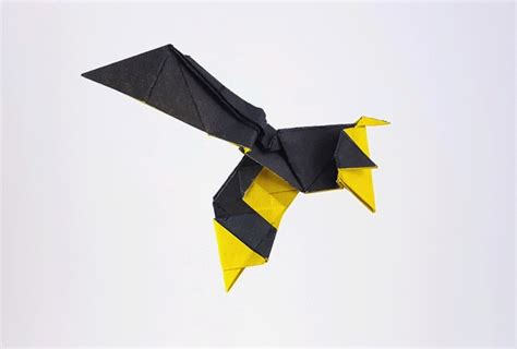 Origami Bee - origami insects page 1 of 5 gilad s origami page