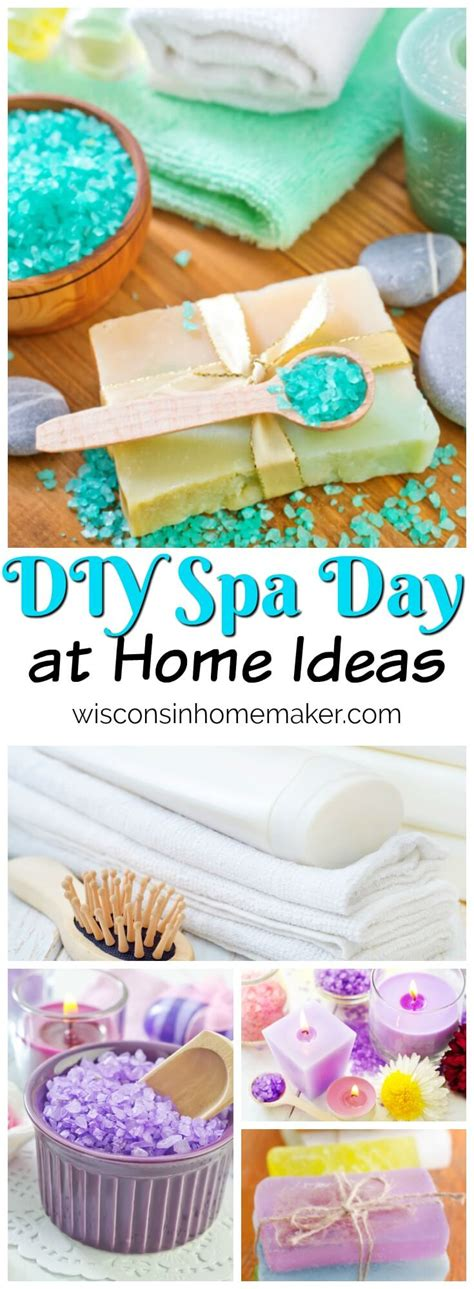 diy spa day at home ideas wisconsin homemaker