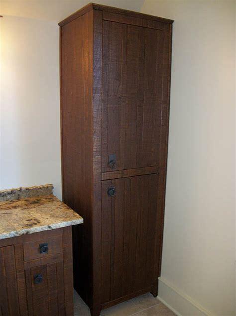 unfinished linen cabinets for bathroom bathroom linen closets in oak roselawnlutheran