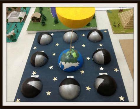 maquetas de lasfaces de la luna m 225 s de 25 ideas incre 237 bles sobre fases de la luna en