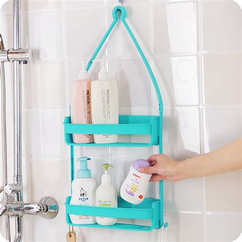 multi use layer bathroom shelves shoo bottle
