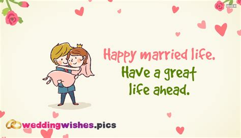 Wedding Wishes Happy Married by Happy Married A Great Ahead