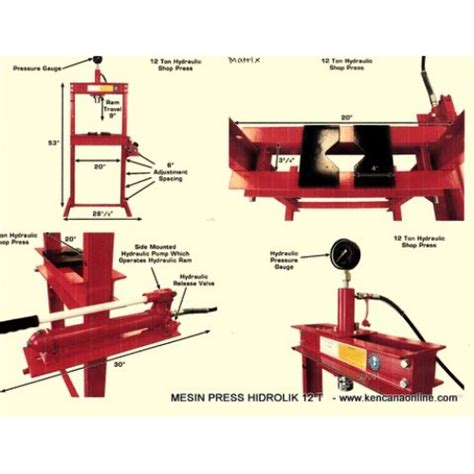 Mesin Pres Motor alat press hidrolik images