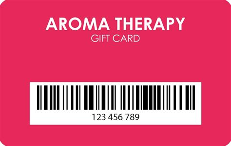 Gift Card Barcode - plastic gift card with barcode