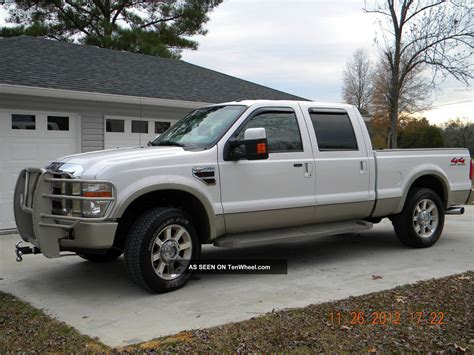 Ford 4 Door Truck by 2008 Ford F 250 Duty King Ranch Crew Cab 4 Door