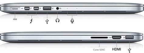 porta air les bases du mac 224 propos des ports assistance apple