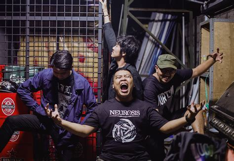 Indonesia Unite powerviolence band woundeath release live indonesia