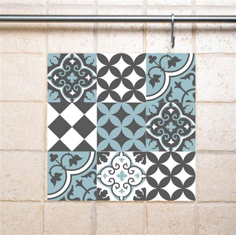 decals for bathroom tiles tile clings tile design ideas