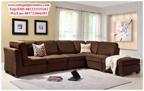 kursi tamu sofa sudut terbaru www tokojatifurniture