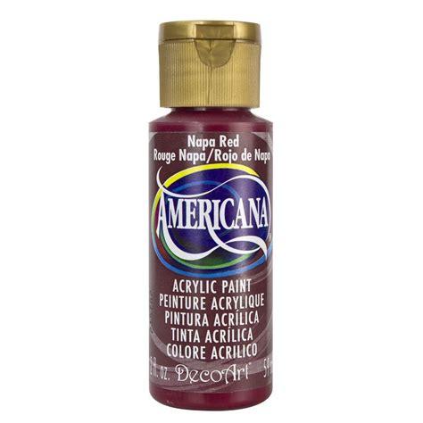decoart americana 2 oz napa acrylic paint da165 3