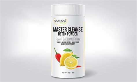 Master Detox Syrup Lemon Cayenne by Up To 67 On Master Cleanse Detox Powder Groupon Goods
