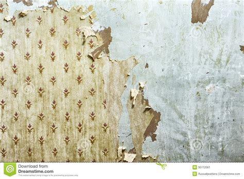 peel off wallpaper peeling wallpaper on drywall stock image image of