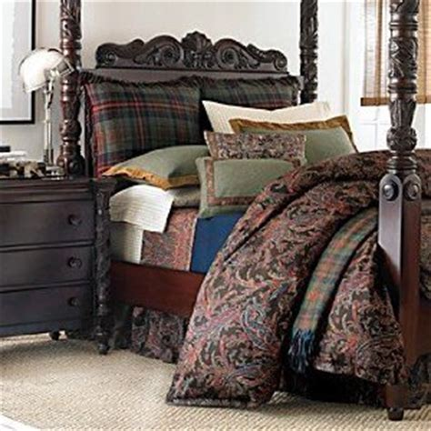 ralph lauren bedford bedding by ralph bedding bedford hunt paisley bedskirt home kitchen