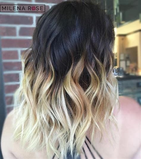 ombre hair over 40 40 vivid ideas for black ombre hair blonde ombre hair