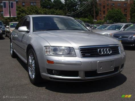 Audi A8 2005 by 2005 Light Silver Metallic Audi A8 4 2 Quattro 32098883