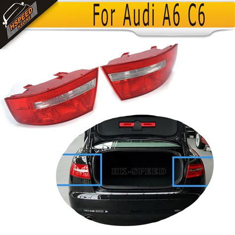 2005 audi a6 tail light assembly a6 c6 abs car rear tail l light covers for audi a6 c6