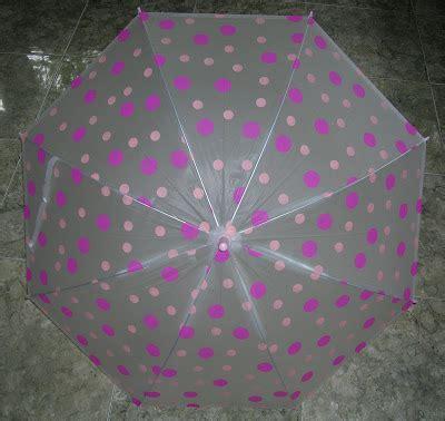 Kancing Kayu Polkadot Pink toko syukra payung jepang