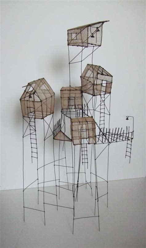 wire houses 17 best images about wire on pinterest sculpture artworks and