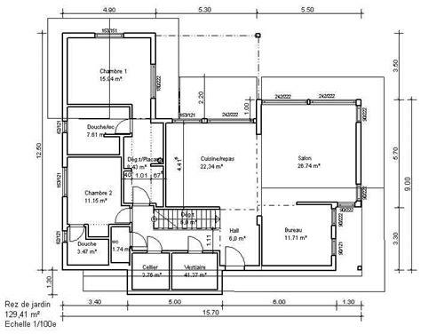 plan 2d plan 2d maison