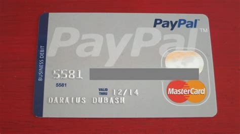 Activate Paypal Business Debit Card