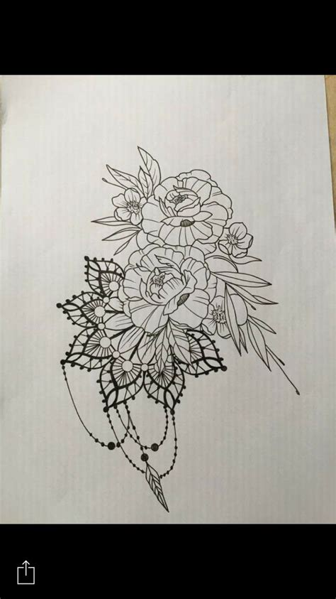 mandala flowers tattoo design by santos norway tattoos