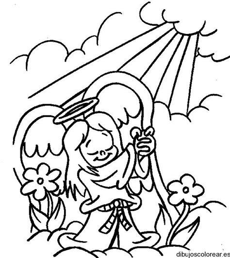 dibujos de la biblia angeles para colorear imagenes 2015 dibujo de un 225 ngel con flores