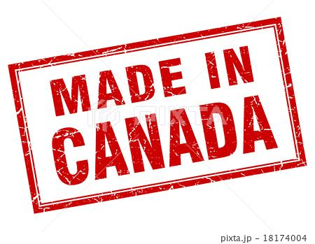 Grunge Made In Canada White - canada square grunge made in stのイラスト素材 18174004