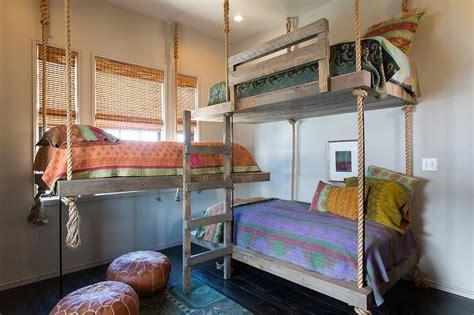 hanging bed hanging bunk beds latitudebrowser