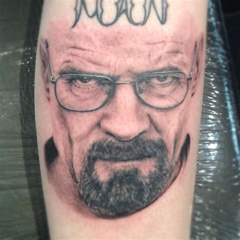 bryan cranston tattoo i am the danger by cbader on deviantart