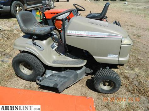 armslist for sale trade lawn tractors and used parts