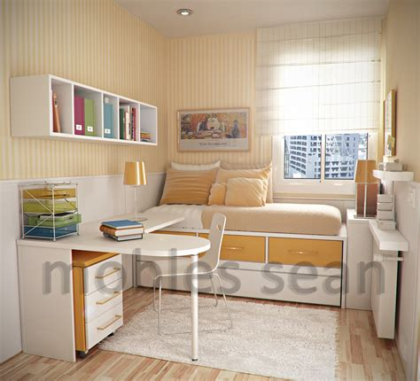 Bedroom Ideas For Small Spaces Space Saving Designs For Small Rooms