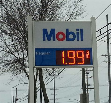 average gas price average wisconsin gas price falls below 2 mark